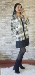 Ekose Oduncu Ceket - HAKİ