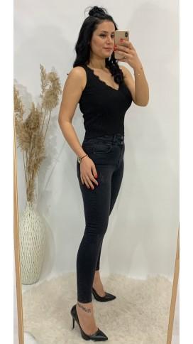Ful Yüksek Bel Skinny Jean - ANTRASİT