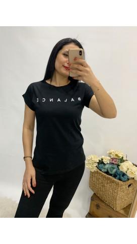 Balance Tişört - SİYAH