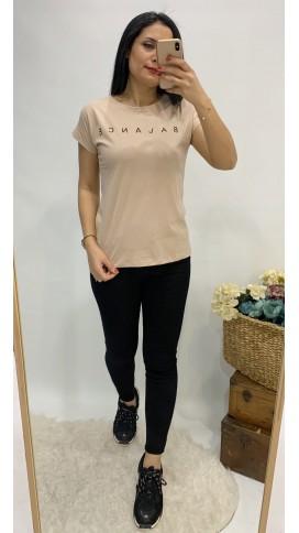 Balance Tişört - VİZON
