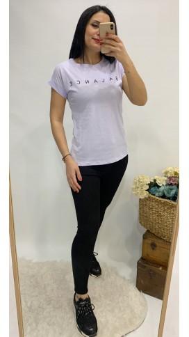 Balance Tişört - LİLA