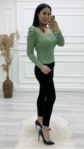 Jean Pantolon Bluz Flar Kombini - MİNT