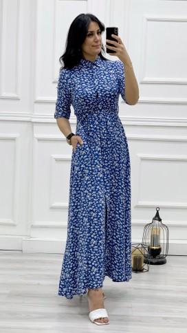 Yonca Desen Gömlek Elbise - SAKS