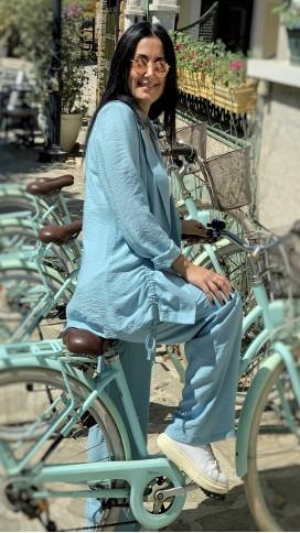 Ceket Pantolon Takımı - MAVİ
