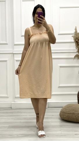 Gipeli Askılı Elbise - YAVRUAĞZI